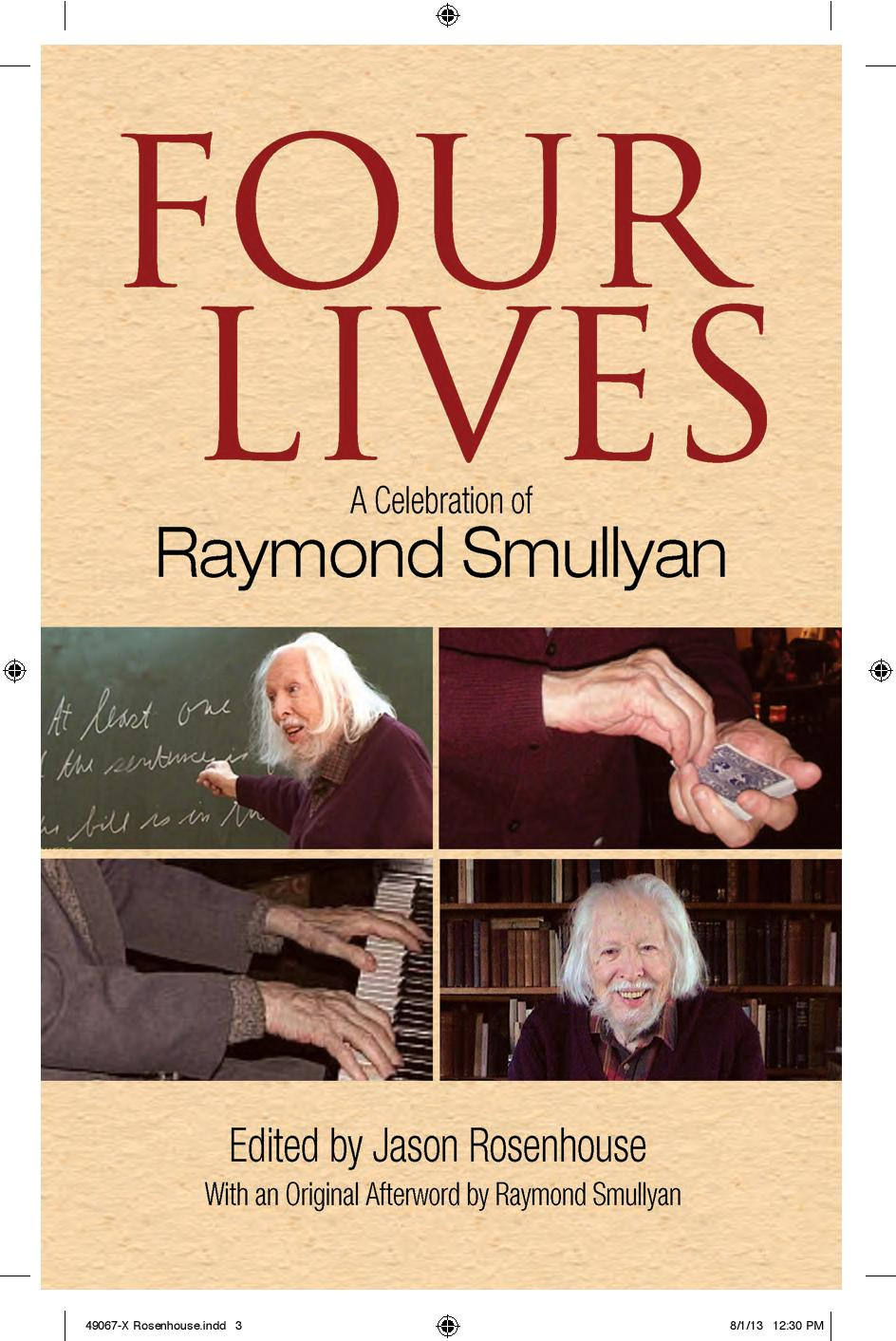 Raymond Smullyan What Is The Name Of This Book